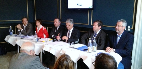 Sébastien Denaja, Fanny Dombre-Coste, Christian Assaf, Patrick Ceccotti, Frédéric Roig