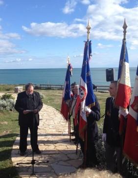 Roger Tarbouriech, Président de l'Association des déportés, internés, résistants et patriotes du bassin de Thau