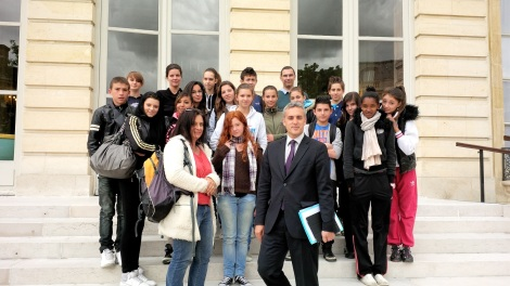 AN visite college Marseillan - 29 mai 2013