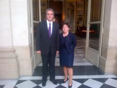 Rapporteur Denaja et Présidente Tapié