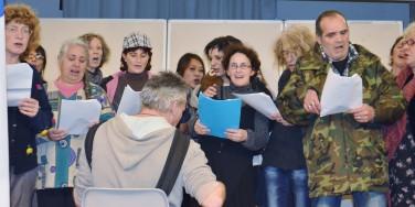 chorale des sans - voeux 2014