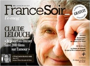 France soir couv num 62