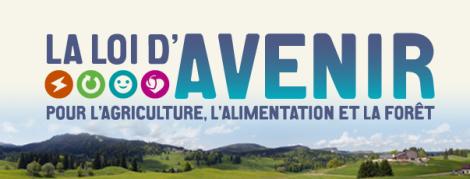 La loi d'avenir pour l'agriculture, l'alimentation et la forêt - logo