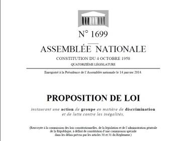ppl action de groupe discrimination - cover ppl - mai 2015