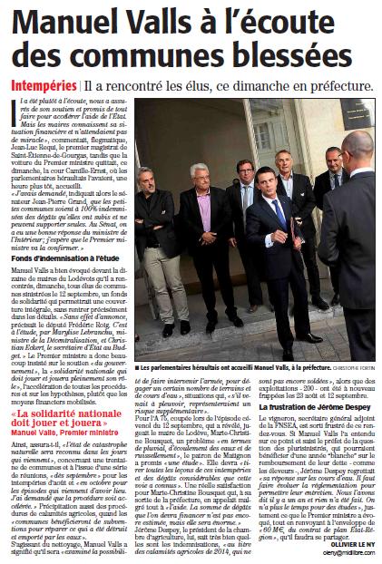 Valls député de l'Hérault Sebastien 2