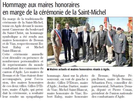 agde Sebastien hommage aux maires honnoraires-1