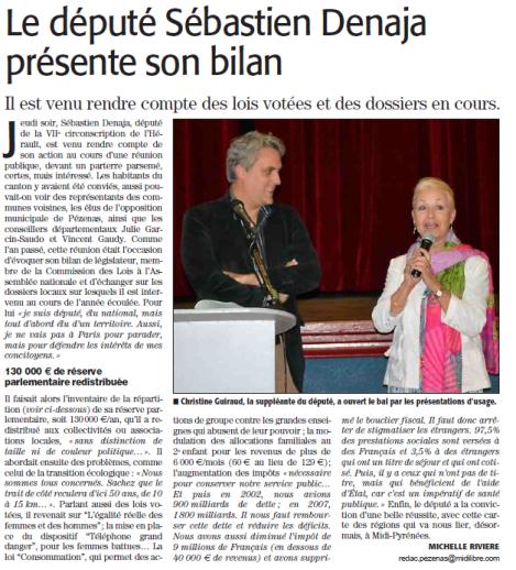 CR Pézenas 8.10.2015