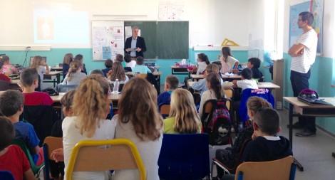 Ecole Sautarochs Castelnau de Guers - 9 octobre 2015