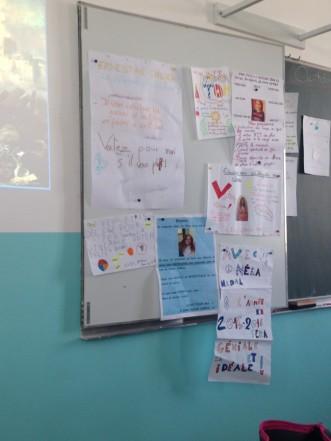 Ecole Sautarochs Castelnau de Guers - 9 octobre 2015 - professions de foi