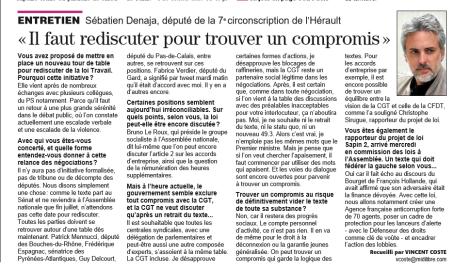 ML 26 05 2015 sebastien france compromis loi travail