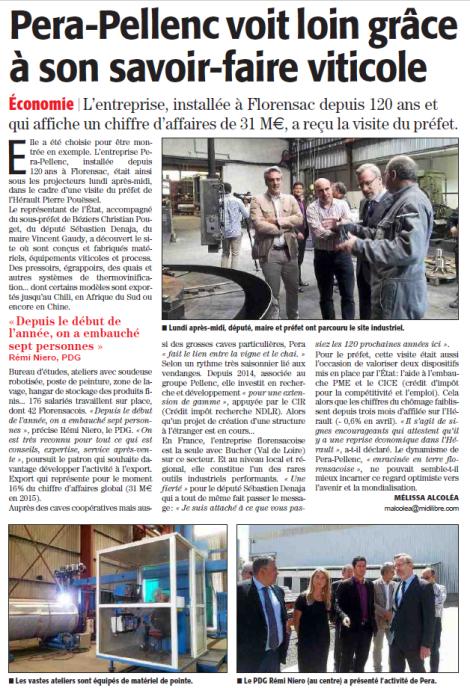 Pera Pellenc - Florensac - ML 1.6.2016