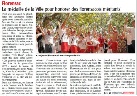 ML Sète 31 08 2016 - Florensac fête locale mention SD